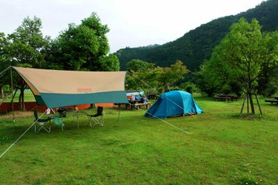 川の駅カヌー館キャンプ場