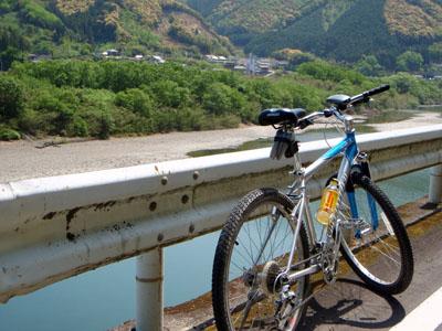 四万十川サイクリング