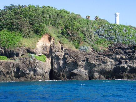 母島の灯台