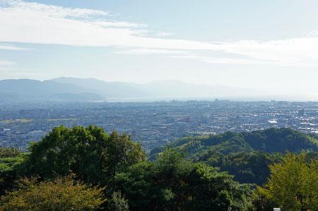 松山総合公園からの松山空港