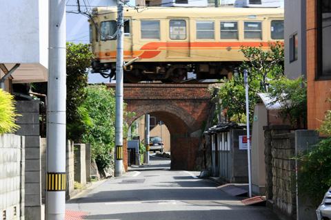煉瓦橋と伊予鉄道