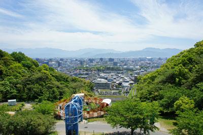 松山総合公園遊具広場