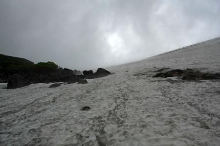 白馬乗鞍岳雪田登山