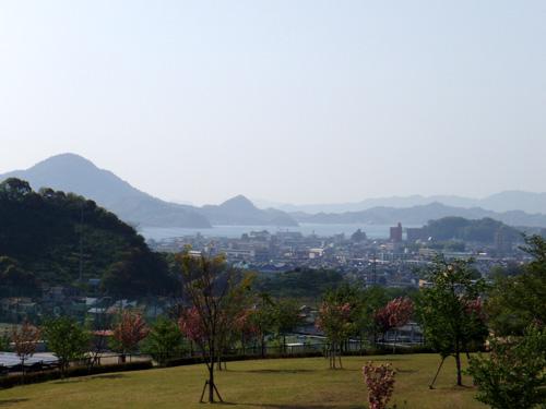松山総合公園からの瀬戸内海