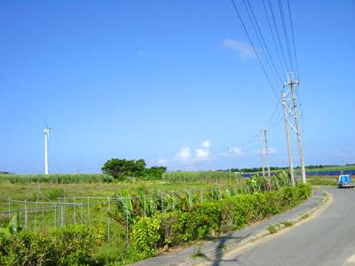 波照間島の道