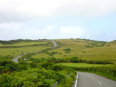 与那国島の道