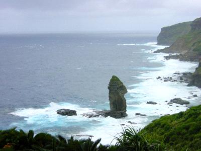 与那国島立神岩