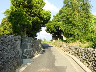 波照間島の石垣
