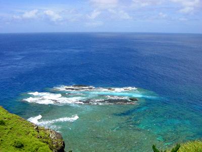 日本最西端のサンゴ礁