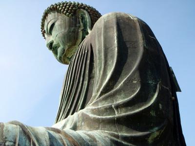 鎌倉大仏横顔