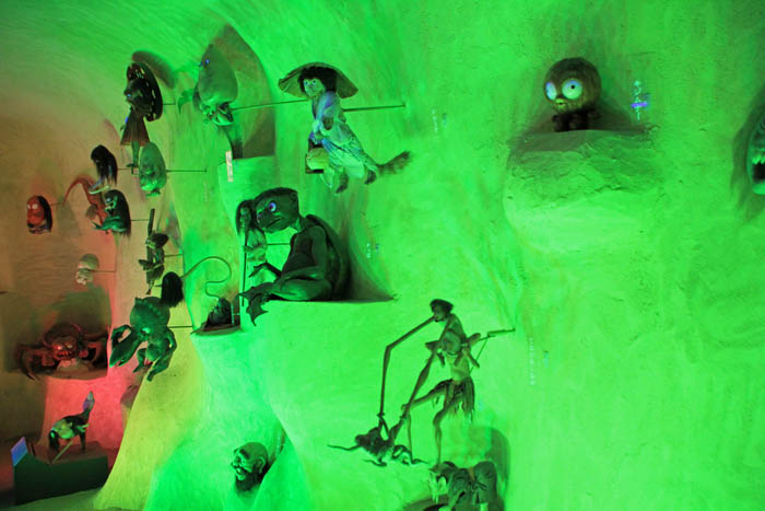 水木しげる記念館妖怪洞窟