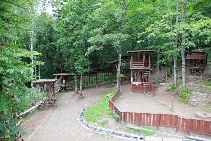 チビッコ忍者村修行の森