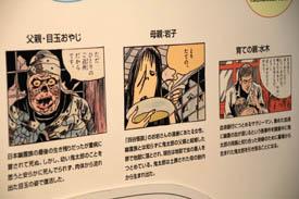 水木しげる記念館鬼太郎家族