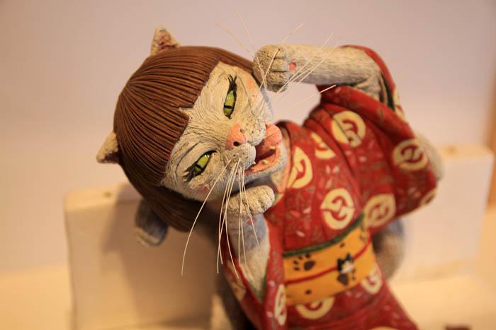 福崎町辻川観光センター猫また