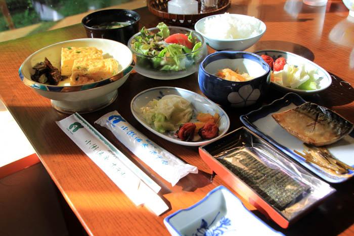 小瀬温泉ホテル朝食