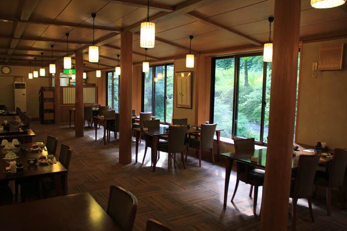 小瀬温泉ホテル朝のレストラン