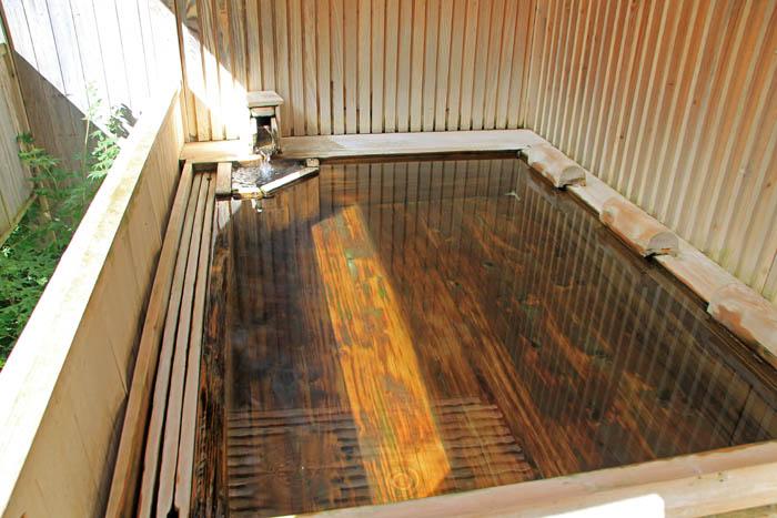 小瀬温泉ホテル貸切露天風呂