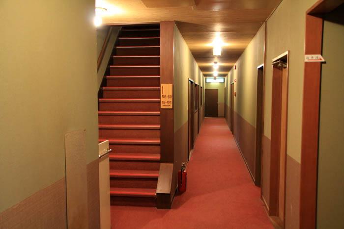 小瀬温泉ホテル廊下