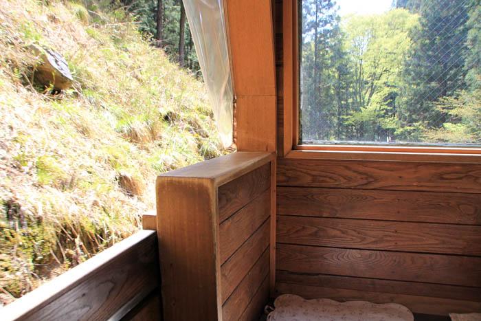 大滝鍾乳洞木製ケーブルカー