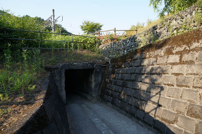 吾野湧水トンネル
