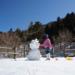 上林森林公園で雪遊び